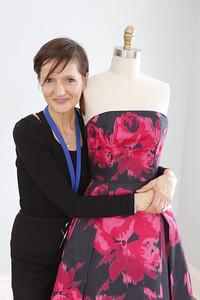 Carola with dress marks the change from Dress I to Dress II