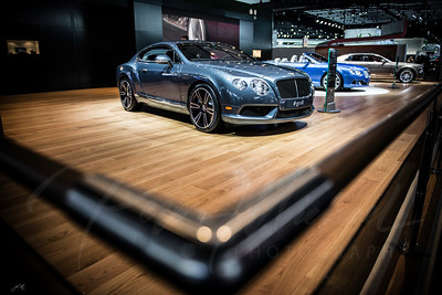 1st place photography winner NAIAS luxury Bentley 3