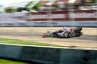 Helio Castroneves - Hitachi - Detroit Grand Prix