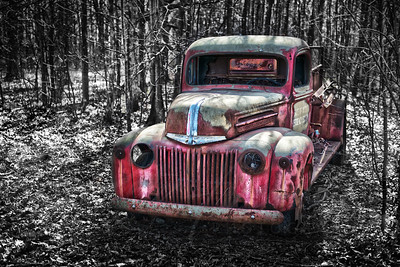 Ford Fire Truck abandon