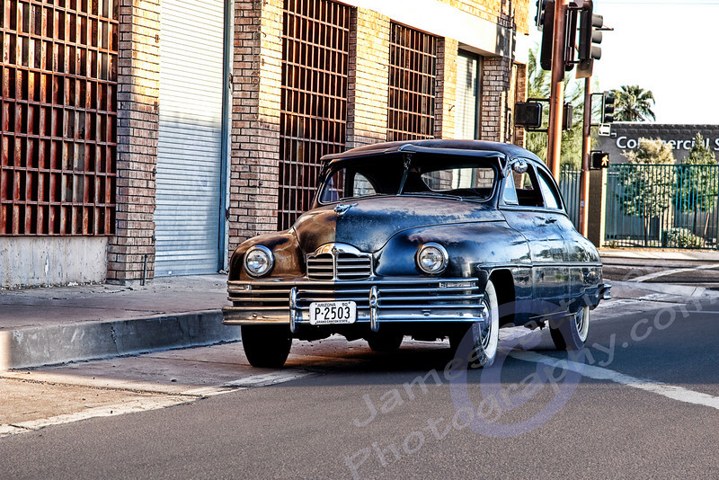 Ryan Messner's 1950 Packard (original AZ funeral car)