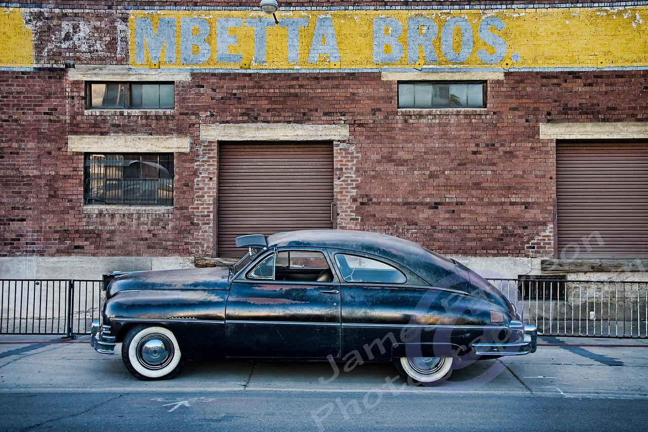 Ryan Messner's 1950 Packard (original AZ funeral car)