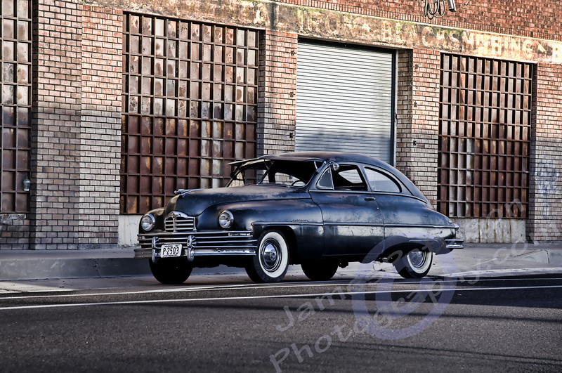 HDR - Ryan Messner's 1950 Packard (original AZ funeral car)