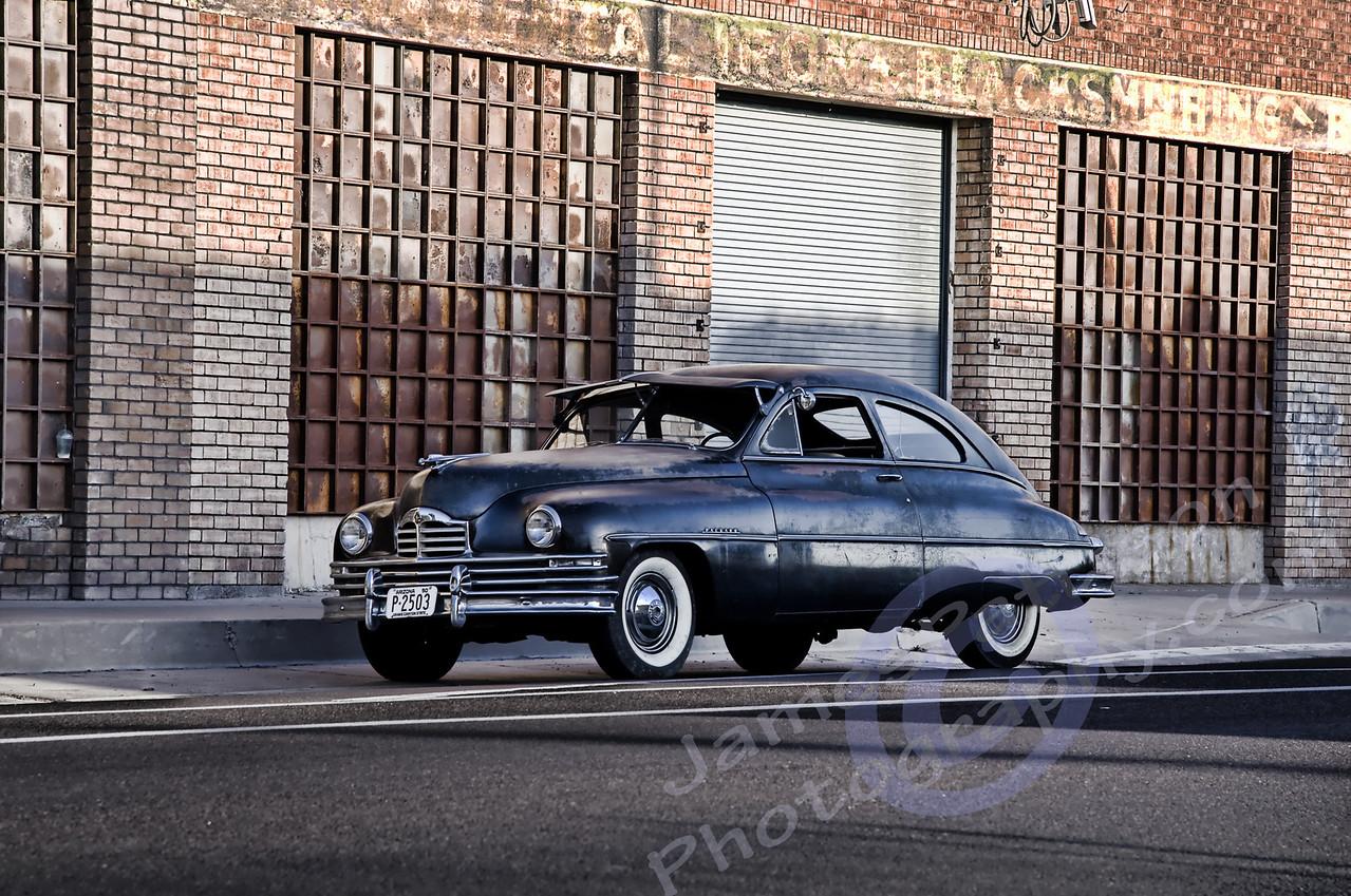 HDR - Ryan Messner's 1950 Packard (original AZ funeral car)