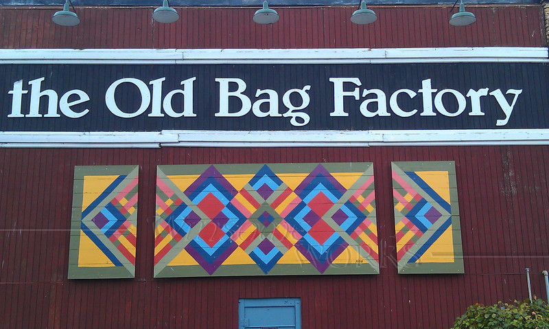 "Sign at the ""Old Bag Factory"" - Goshen, Indiana"
