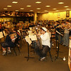 Quakertown H.S. Jazz Band playing in Barnes and Noble, Saucon Valley