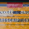 Vintage sign on old store -- Goshen, IN
