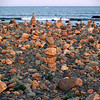 Cairns at Point Judith Light, Rhode Island