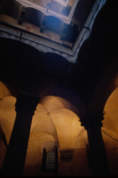 """""""Warm and Cool Light"""" - inside the Palazzo Medici-Ricardi in Florence"""