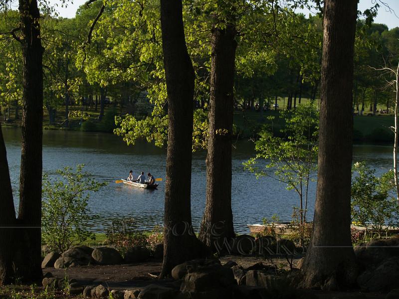 Boating at Green Lane Reservoir