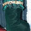Mom's handmade velvet Christmas Stocking