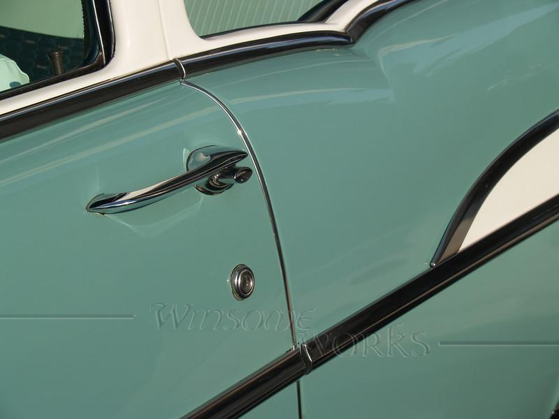 Classic Chevy Door