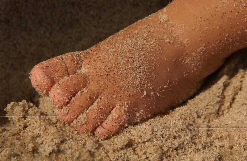 Yvelia's Sandy Foot