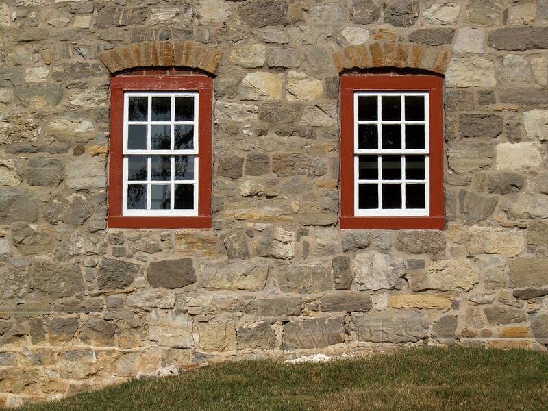 Windows on Music Building, Moravian College, Bethlehem, PA