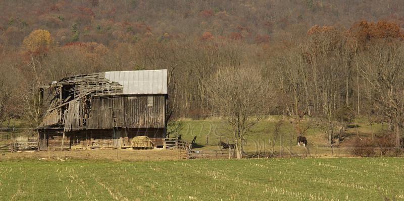 Old barn in Harrisonburg,Virginia