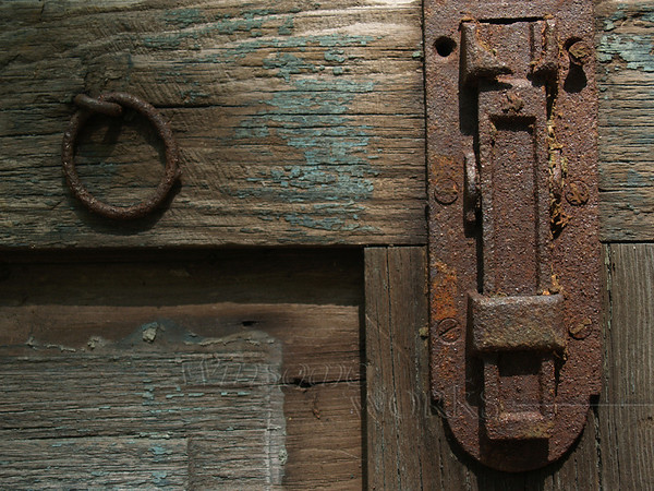 Latch on old gate in Sellersville