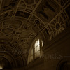 Ceiling of the School of Music - Carnegie Mellon U., Pittsburgh PA