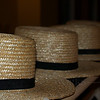 Amish men's everyday hats at Troyer's Country Amish Blatz - Fairview, NC