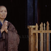 Buddhist Nun at the small temple on a hill above our campus - she asked me to take this portrait of her.