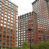 Apartment Buildings in Teardrop Park, Manhattan NY
