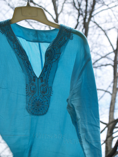 Tunic on the line