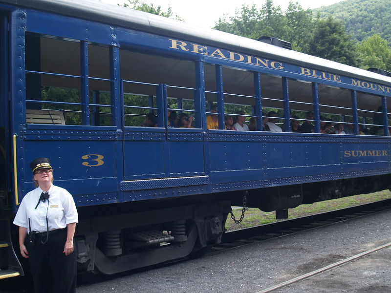 Old Reading Blue Mountain at Lehigh Gorge in Jim Thorpe
