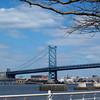 The Ben Franklin Bridge, Philadelphia