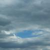 Strange sky background, October, Lehigh area