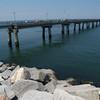 Pier near the Chesapeake Bay Bridge