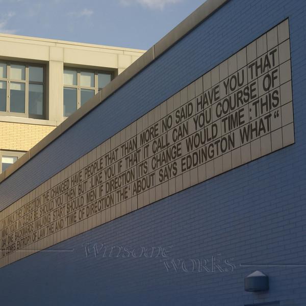 Side of building at Carnegie-Mellon U.