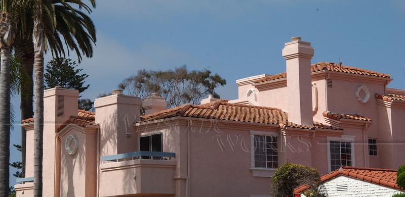 A pink place in La Jolla, CA