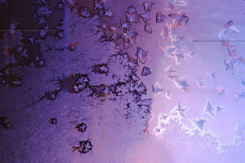 (3) Frosty Window at Dawn - Steinsburg, PA [fx]
