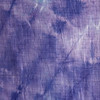 Purple & White Tie-dyed cotton