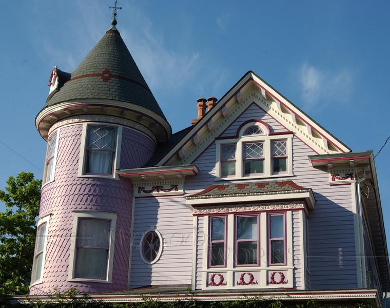 Vintage gingerbread house in Ocean Grove, NJ