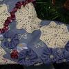 Mom's Christmas stocking creation