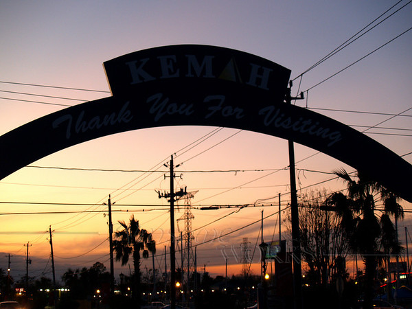 Sign over Kemah