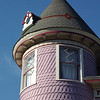 Turret of Vintage gingerbread house in Ocean Grove, NJ