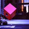 Cube Sculpture (on Wall Street?)