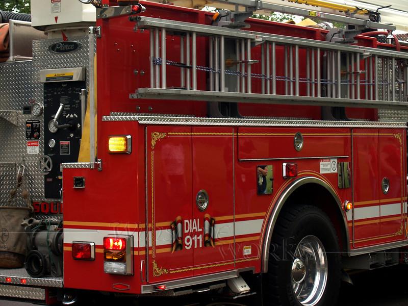 Quakertown Fire Dept. Truck, Memorial Day Parade