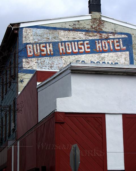 Bush House Hotel in Quakertown, PA