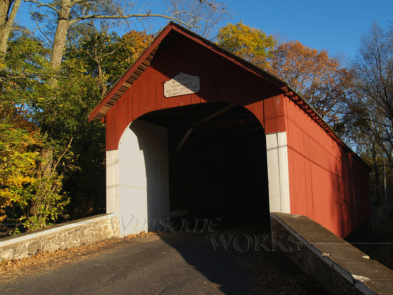 Knecht's Covered Bridge; Springfield Township, PA