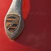 1954 Porsche Speedster hood ornament