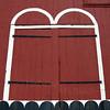 Detail of Vintage Barn Doors, Cultural Heritage Site; Kutztown, PA