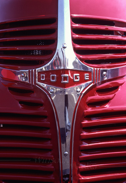 Beautiful Old-timer-- 1938 Dodge Pickup Front End