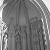 Sculptural alcove at School of Music - Carnegie Mellon U., Pittsburgh PA