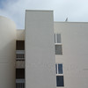Modern apartment building in La Jolla