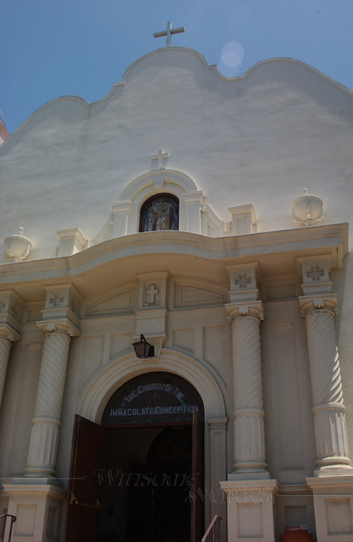 Church of the Immaculate Conception; San Diego Olde Towne, CA