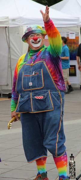 Mr. Rainbow at CenterFest