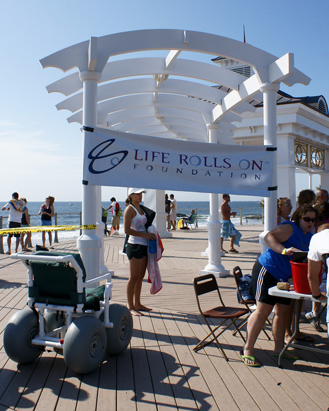 Life Rolls On Foundation, Long Branch, 6/28/2009, New Jersey,