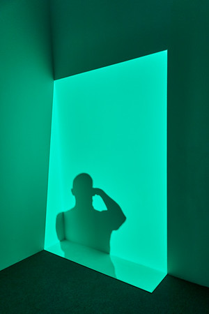June 4, 2016- New York, New York : James Turrell at Pace Gallery  Chelsea, NY  Credit: Robert Altman
